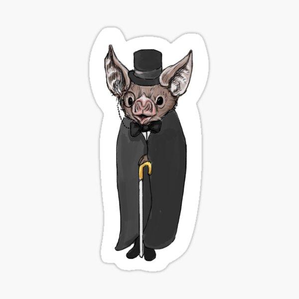 Fancy Bat Sticker