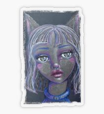 Kitty Transparent Sticker
