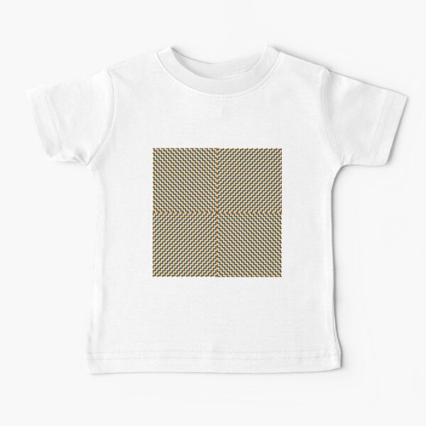 #Illusions gif, #abstract, #design, #pattern, art, illustration, twirl, hypnosis, twist, target, spiral Baby T-Shirt