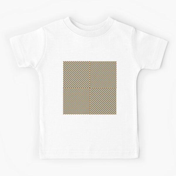#Illusions gif, #abstract, #design, #pattern, art, illustration, twirl, hypnosis, twist, target, spiral Kids T-Shirt
