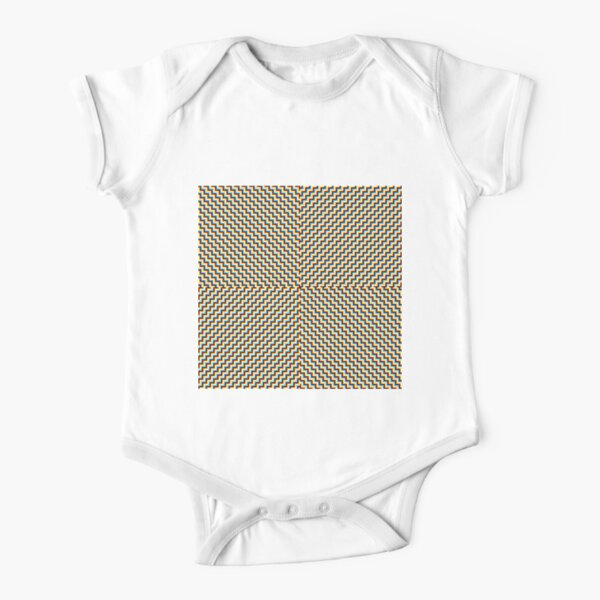 #Illusions gif, #abstract, #design, #pattern, art, illustration, twirl, hypnosis, twist, target, spiral Short Sleeve Baby One-Piece