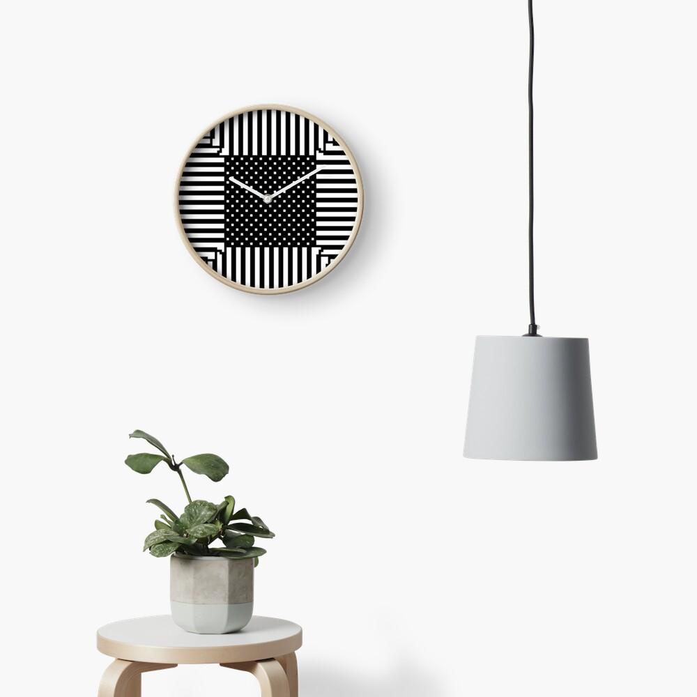 #Illusions gif, #abstract, #design, #pattern, art, illustration, twirl, hypnosis, twist, target, spiral Clock