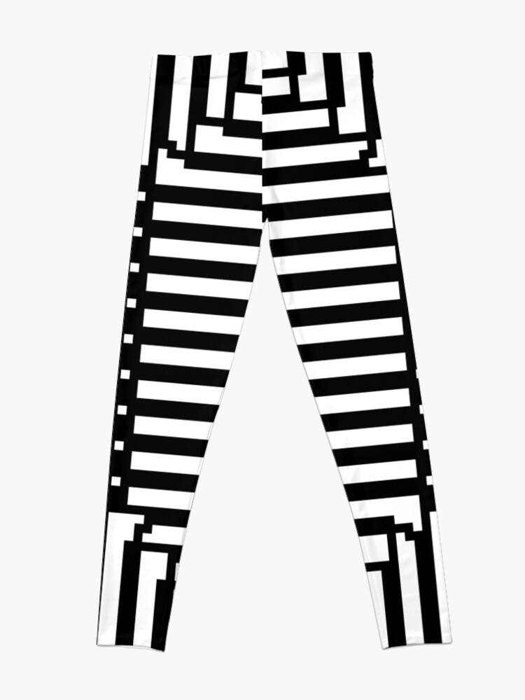 Alternate view of #Illusions gif, #abstract, #design, #pattern, art, illustration, twirl, hypnosis, twist, target, spiral Leggings
