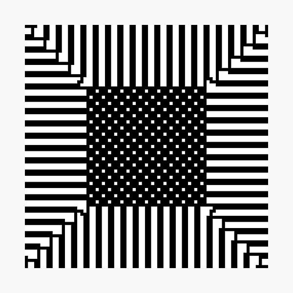 #Illusions gif, #abstract, #design, #pattern, art, illustration, twirl, hypnosis, twist, target, spiral Photographic Print