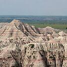 Badlands Panorama by Daniel Owens