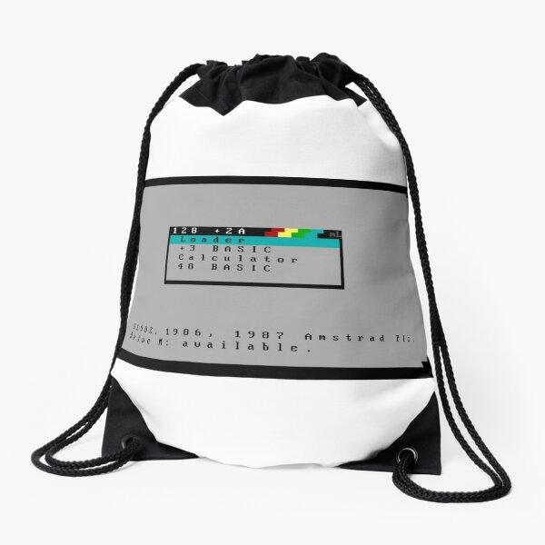 zx spectrum +2a ansi Drawstring Bag