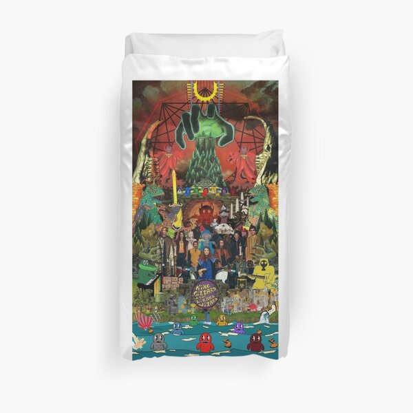 King Gizzard and the Lizard Wizard Collage - all proceeds to charity - King Gizzard's Altered Beasts Club Band Duvet Cover