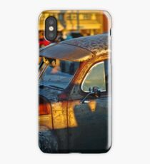 Old Plymouth Car Visor iPhone Case/Skin