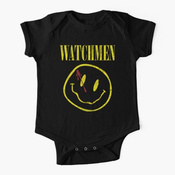 Watchmen Short Sleeve Baby One-Piece