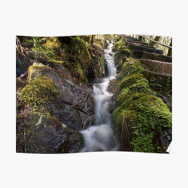 Mini River at Dip Falls Poster