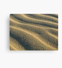 golden sand Canvas Print