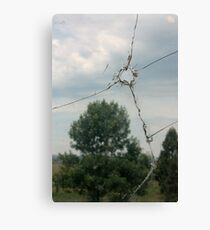 Bullet Hole Canvas Print