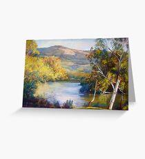 Dabyminga Junction (Goulburn River) Greeting Card