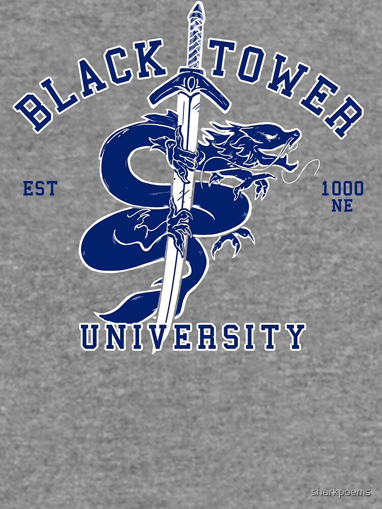 Black Tower University by sharkpoems