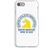 Boston Marathon 2015 iPhone Case/Skin