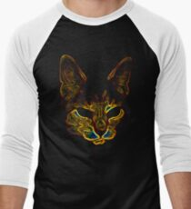 Bad kitty kitty Men's Baseball ¾ T-Shirt