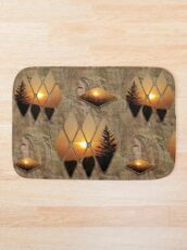 Evening Glow Bath Mat