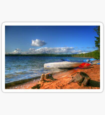 Blue Lake, Ontario, Canada Sticker