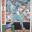 488 - John Moses by Foob's Baseball Cards