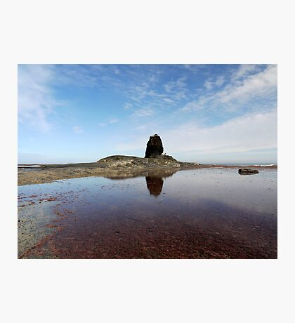 Black Nab- Saltwick Bay Photographic Print
