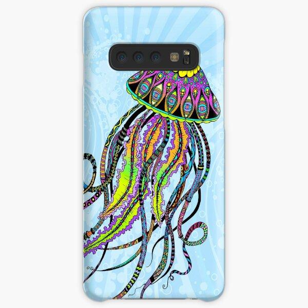 Electric Jellyfish Samsung Galaxy Snap Case