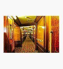 Queen Mary Corridor  Photographic Print