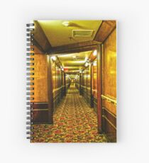 Queen Mary Corridor  Spiral Notebook