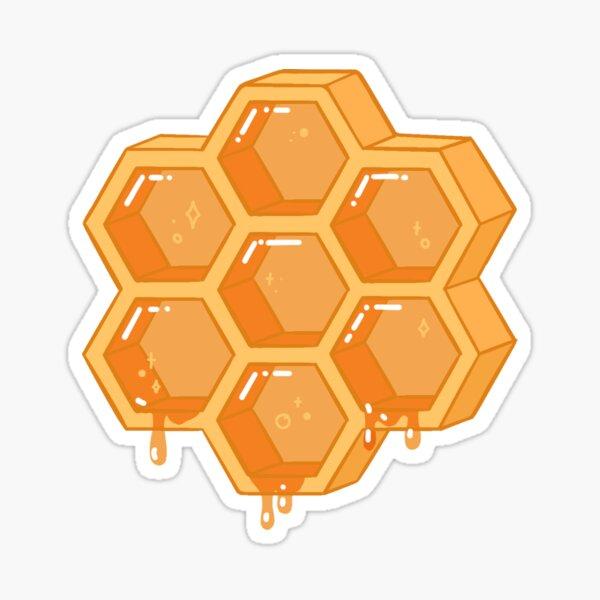 Sticky Honeycomb Sticker