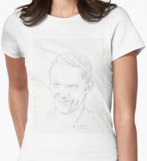 Steve McQueen Women's Fitted T-Shirt