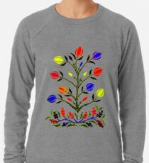 Slavic Flower 4 Lightweight Sweatshirt