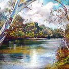 Spring Afternoon - Goulburn River by Lynda Robinson