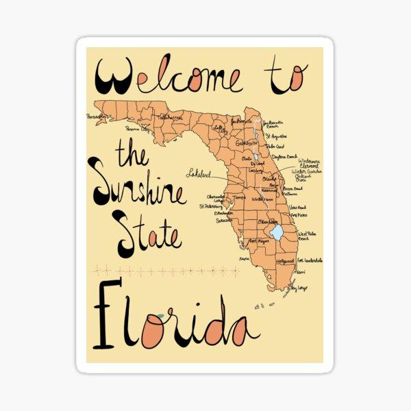 Fl // Florida Sticker