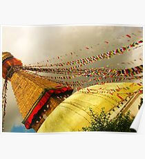 Boudha Stupa Poster