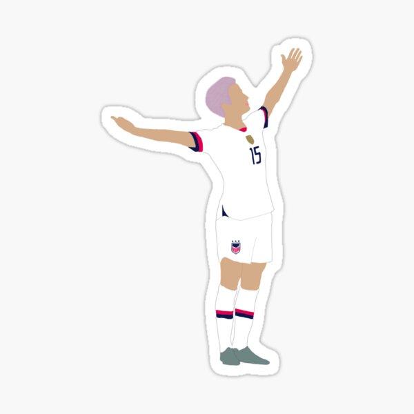 Megan Rapinoe USA Soccer Sticker