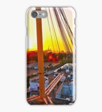 Queen Mary Sunset Over the Bow iPhone Case/Skin