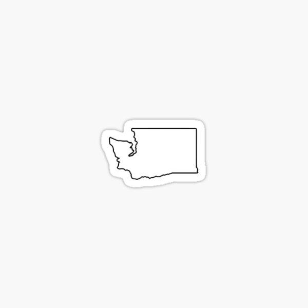 Mini Washington Sticker - Collect Them All! Sticker