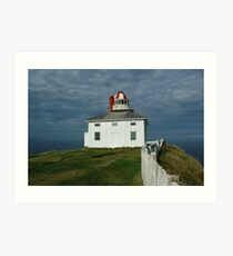 Old Cape Spear Lighthouse Art Print