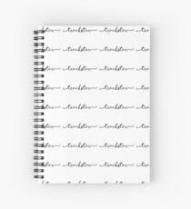 trackster Spiral Notebook