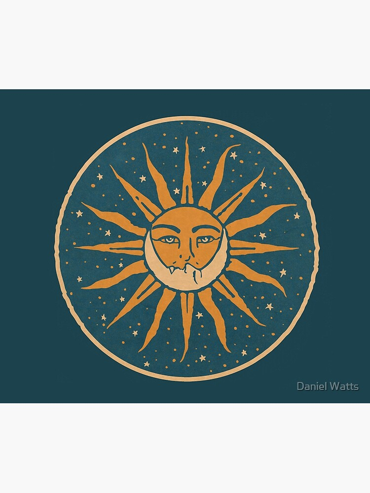 Sun and Moon | Vintage by DanJohnDesign