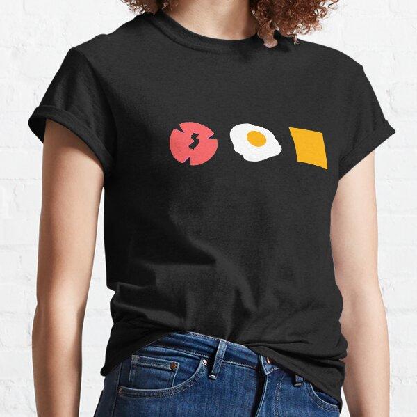 NJ Slice Taylor Ham Pork Roll Egg and Cheese Classic T-Shirt