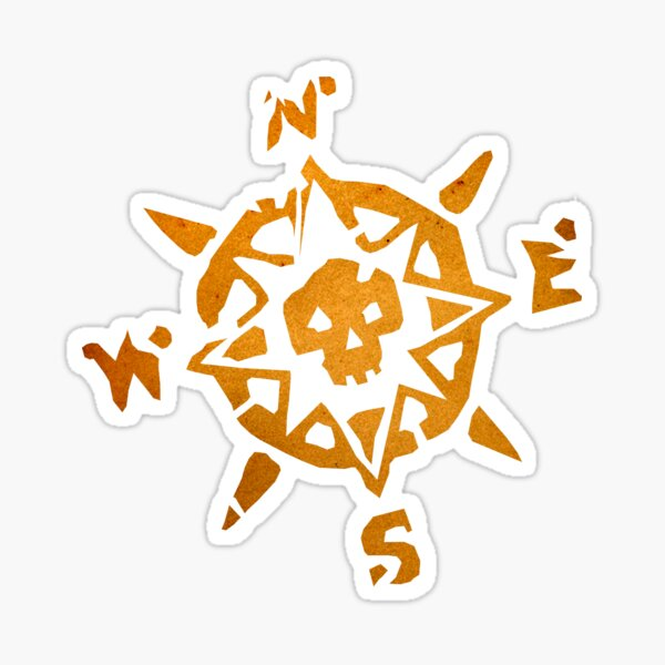 Sea of Thieves Compass Sticker