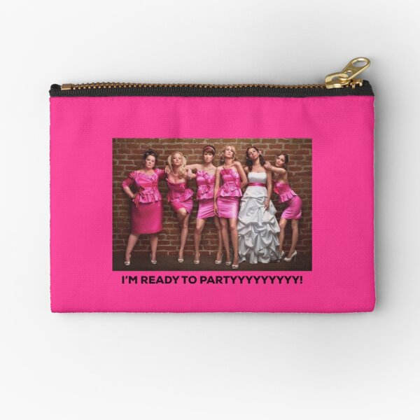 Bridesmaids Zipper Pouch