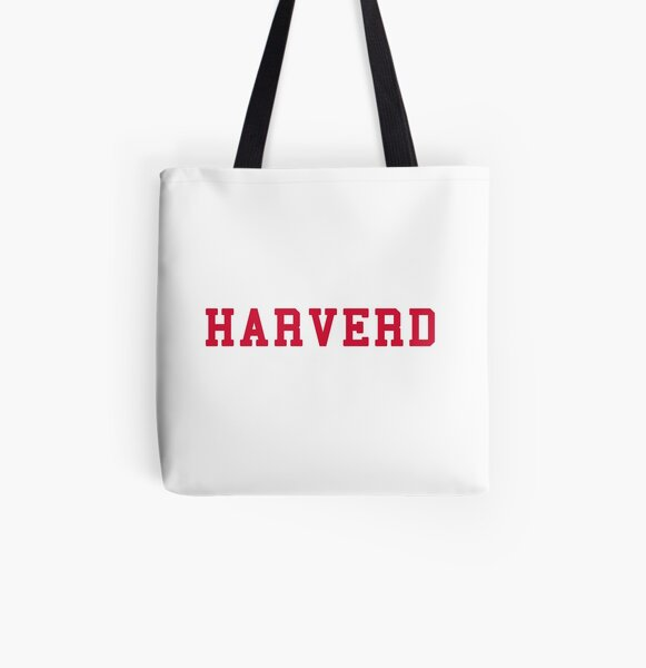 HARVERD (red letters) All Over Print Tote Bag