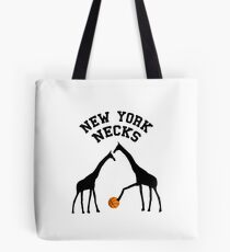New York Necks Tote Bag