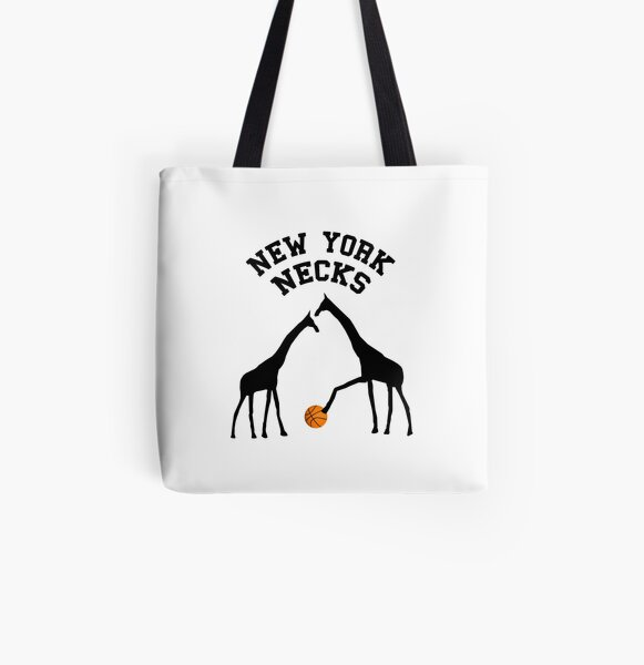 New York Necks All Over Print Tote Bag
