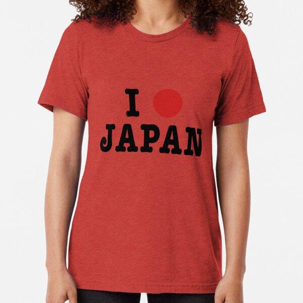 I [Sun] Japan Tri-blend T-Shirt