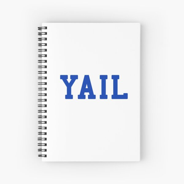 YAIL (blue letters) Spiral Notebook