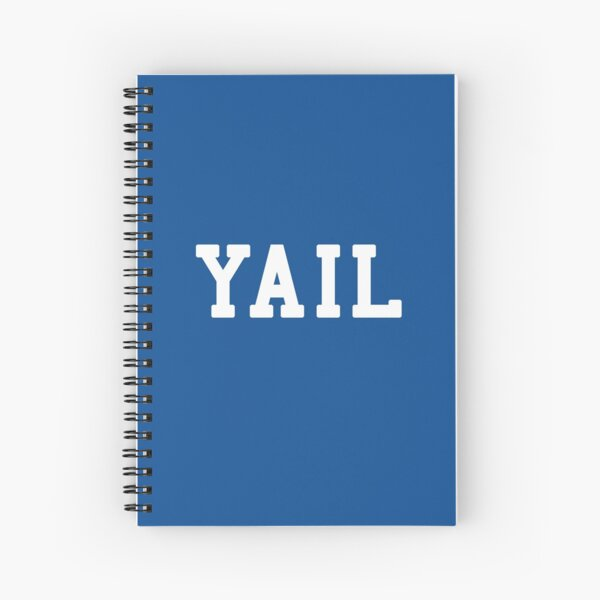 Yail (white letters) Spiral Notebook