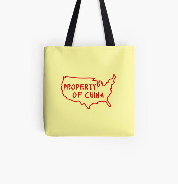 Property of China All Over Print Tote Bag