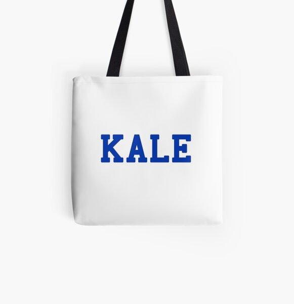 KALE (blue lettering) All Over Print Tote Bag